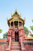 Archives Tripitaka at Wat Phra That Hariphunchai temple — Stock Photo