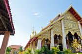 Chapel of Wat Phra That Haripunchai temple — Stockfoto