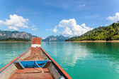 Travel by boat — Stock Photo