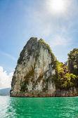 Beautiful island under the sunlight — Stock Photo