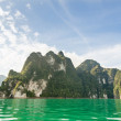 Beautiful island and green lake ( Guilin of Thailand ) — Stock Photo #41452691