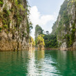 Travel island and green lake ( Guilin of Thailand ) — Stock Photo #41454813