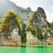 Travel island and green lake ( Guilin of Thailand ) — Stock Photo #41455459