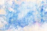 Blue watercolor strokes — Stock Photo