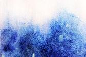 Deep blue watercolor — Stock Photo
