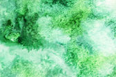 Pale green and white watercolor smudges — Stock Photo