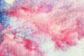 Blue and pink watercolor texture — Stock Photo