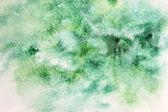 Green watercolor — Stock Photo