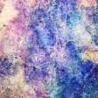 Purple and blue grunge watercolor canvas. art background — Stock Photo