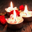 Stock Photo: Aromatic spcandles close up