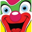 Clown vector illustration — Stock Vector