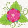 Flower vector illustration - Stock Vector