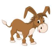 Donkey Vector Illustration — Stock Vector