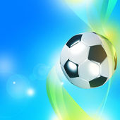 Soccer background — Stock Photo
