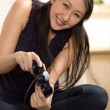 Asian woman having fun — Stock Photo #12189677