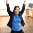 Energetic Asian professional woman - Stockfoto