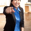 Energetic Asian professional woman — Stock Photo #12189833