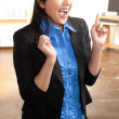 Energetic Asian professional woman — Stock Photo #12189836