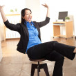Energetic Asian professional woman — Stock Photo #12189839