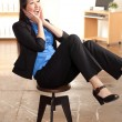 Energetic Asian professional woman — Stock Photo #12189840