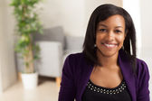 Young black female professional — Stock Photo