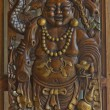 Stock Photo: Carvings On Doors