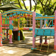A colourful children playground - Stock Photo