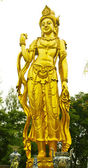 Sculpture, monuments, temples in Thailand. — Stock Photo
