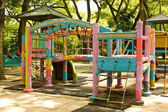 A colourful children playground — Stock Photo