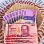 Thai Banknotes — Stock Photo #13129575