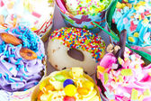 Colorful of Cupcake — Stock Photo
