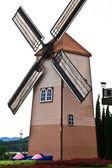 Turbina de vento — Fotografia Stock