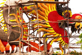 Construction dragon — Stock Photo