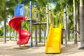 Colourful children playground equipment — ストック写真
