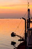 Sunset at the sea — Stock Photo