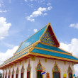 Royalty-Free Stock Photo: Temple in thailand on the blue sky background