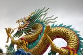 Golden dragon chino — Foto de Stock