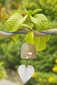 Closeup of wind bell — Stock Photo