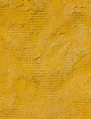 Yellow concrete wall — Stock Photo