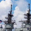 Stock Photo: Observe of Thai battleship, Sattahip