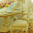 Stock Photo: Luxury Grand Dinning Room & Living Room