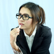 Beautiful asian business woman — Stock Photo