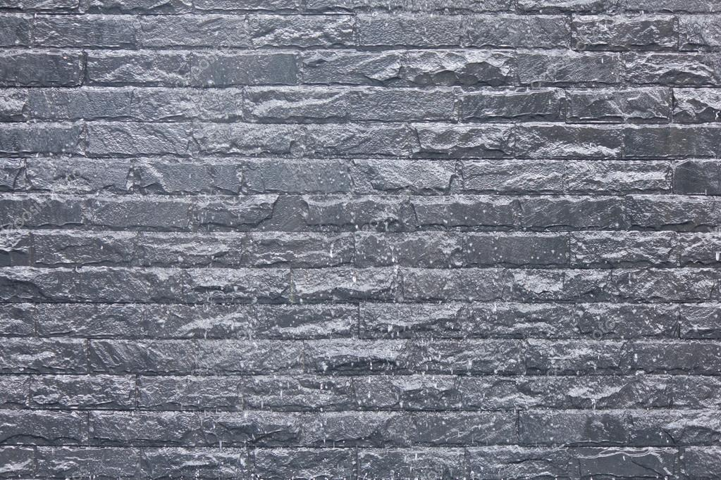 dunkle stein fliesen wand textur aufgetaucht stockfoto singkamc 30928295. Black Bedroom Furniture Sets. Home Design Ideas