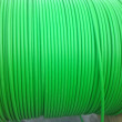Stock Photo: Green color wires