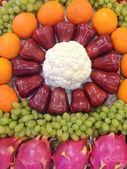 Coleção frutas e legumes — Foto Stock