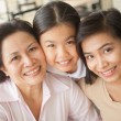 Affectionate family — Stock Photo