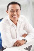 Successful leader — Stock Photo