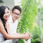 Couple outdoors — Stock Photo #12812344