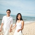 Couple at seaside — Stock Photo #12812851