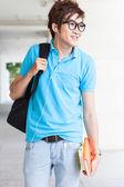 Teenager at school — Stock Photo